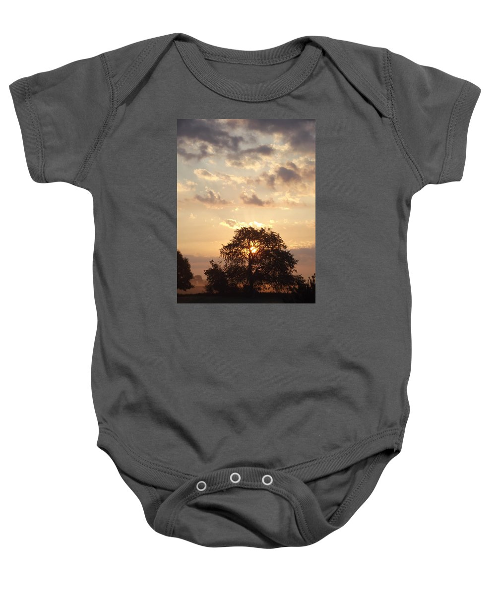 Baby Onesie featuring the photograph A New Day by William Kriekaard