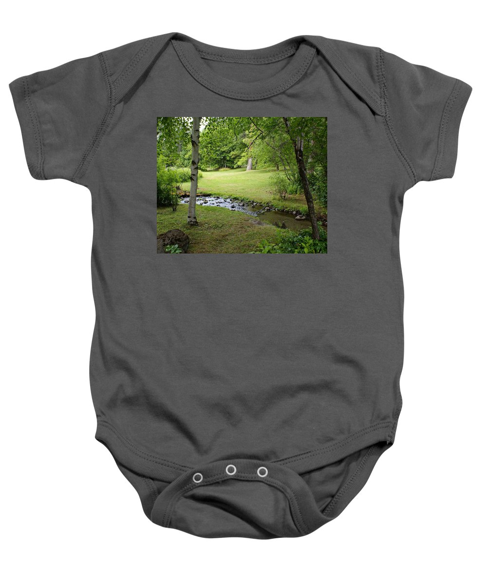 Nature Baby Onesie featuring the photograph A Place To Dream Awhile by Ben Upham III