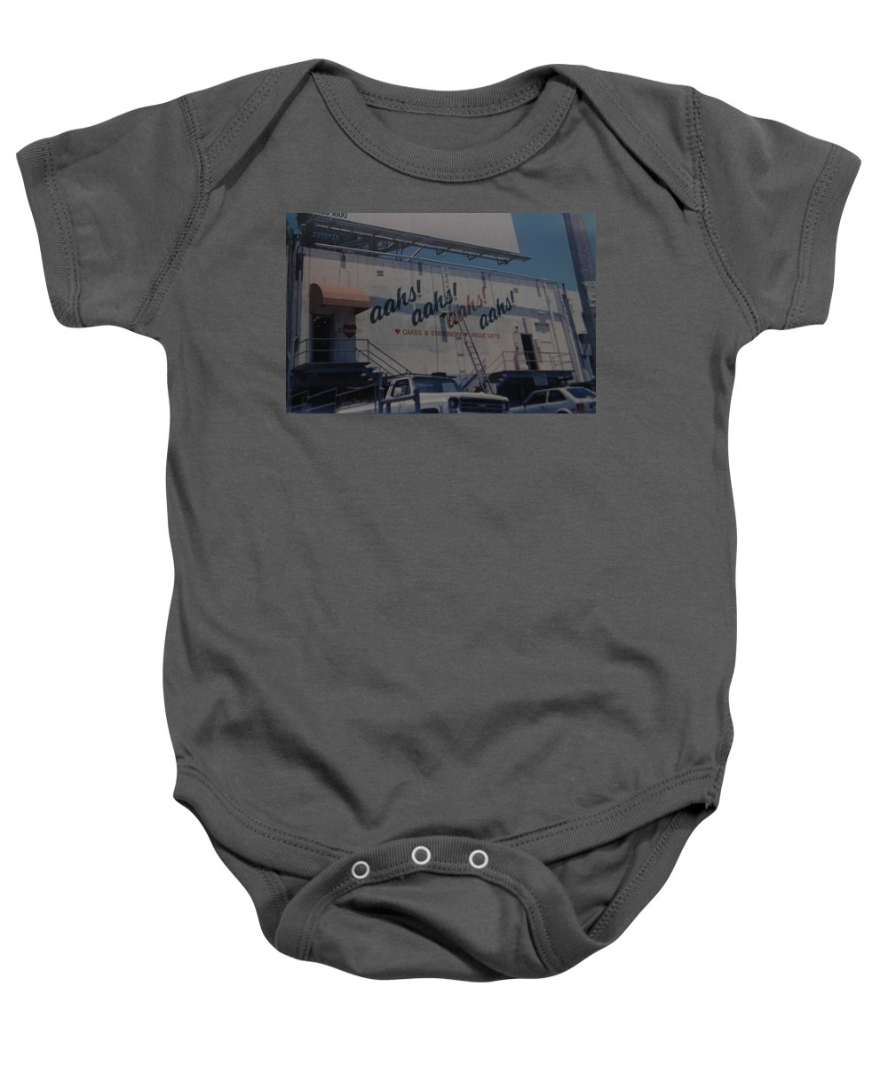 Architecture Baby Onesie featuring the photograph Aahs by Rob Hans