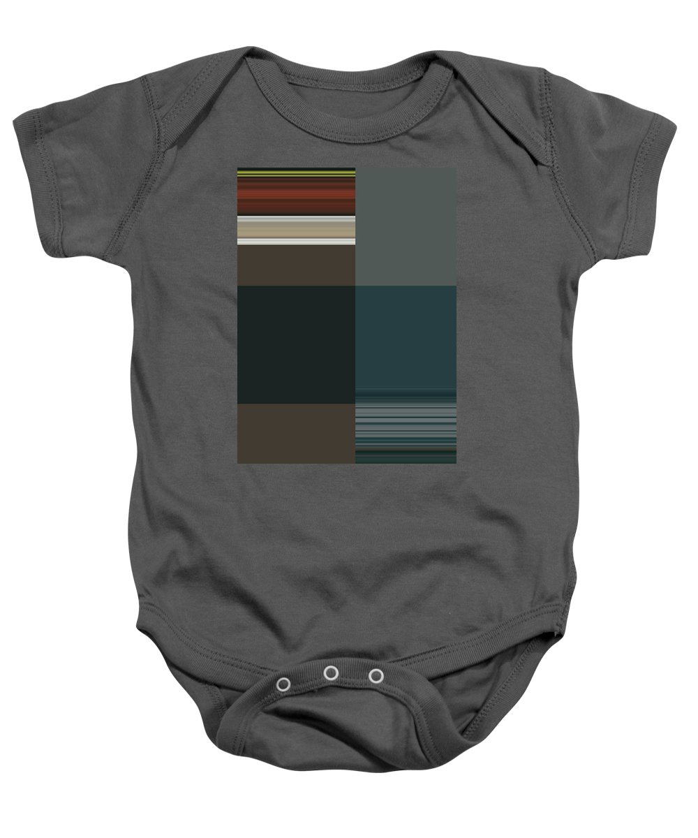 Abstract Baby Onesie featuring the digital art Abstract For My Mother by Lenore Senior