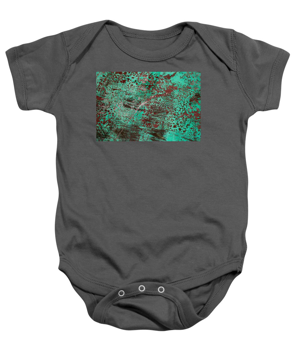 Artistic Baby Onesie featuring the photograph Abstract II by Misty Tienken