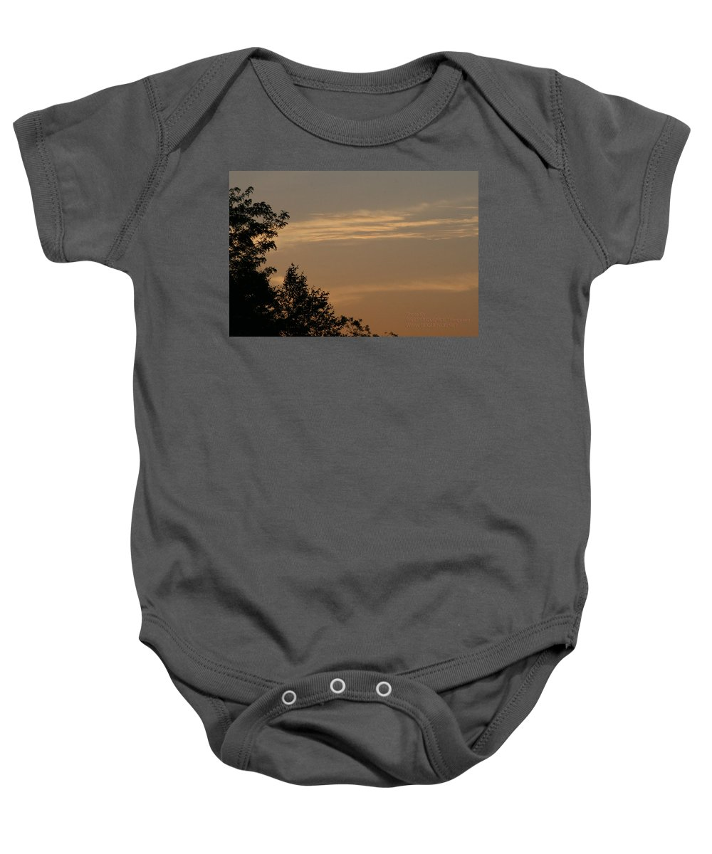 Sky Baby Onesie featuring the photograph After The Rain by Paul SEQUENCE Ferguson       sequence dot net