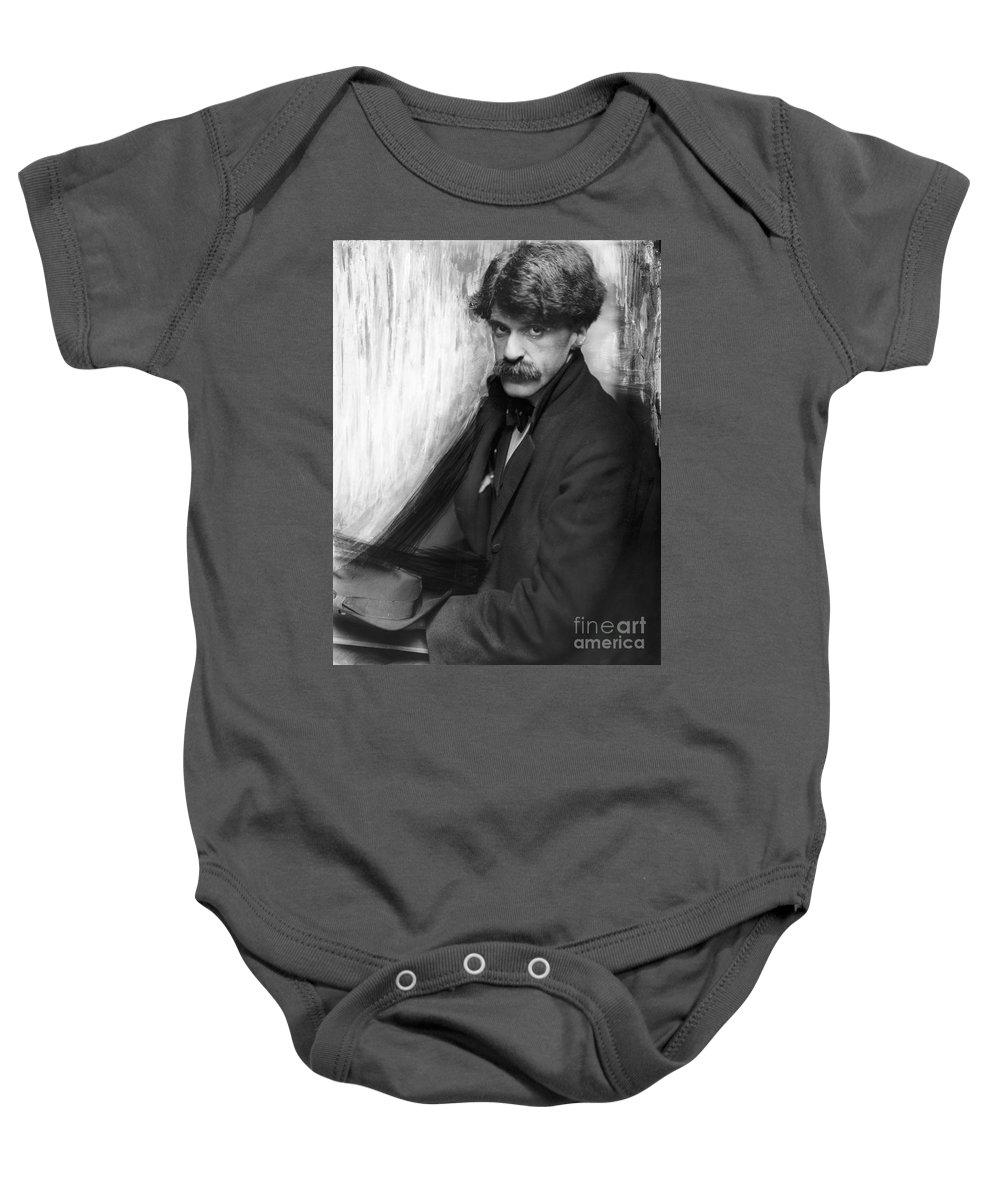 1902 Baby Onesie featuring the photograph Alfred Stieglitz (1864-1946) by Granger
