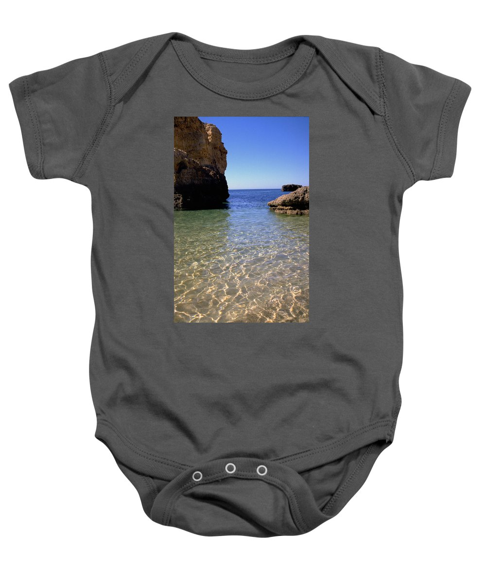 Algarve Baby Onesie featuring the photograph Algarve I by Flavia Westerwelle