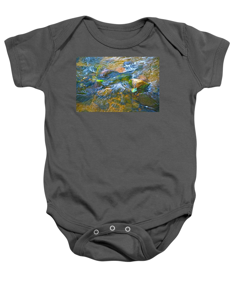 Color Baby Onesie featuring the photograph All Those Colors by Robert Pearson