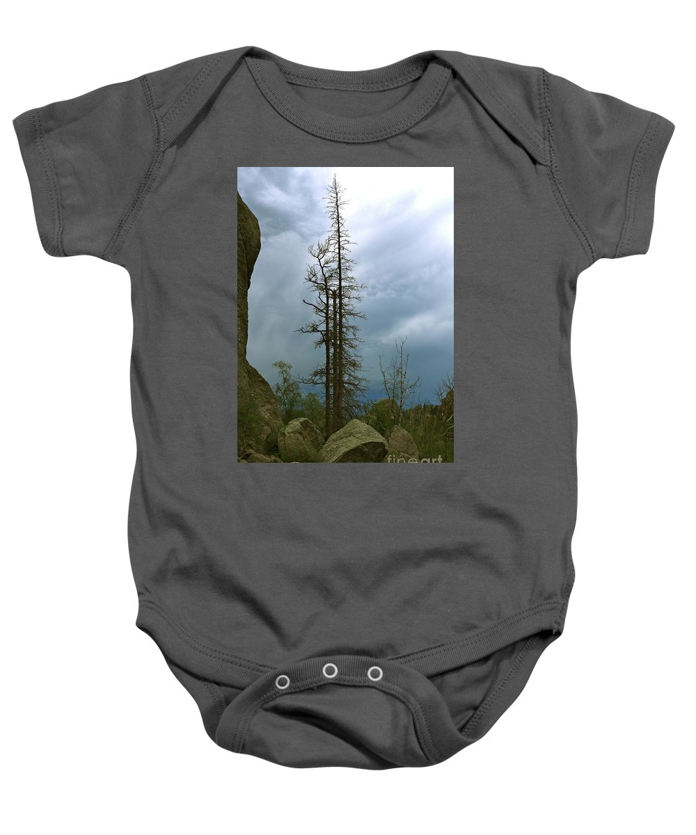 South Dakota Needles Baby Onesie featuring the photograph Along The Needles Highway by Christiane Schulze Art And Photography