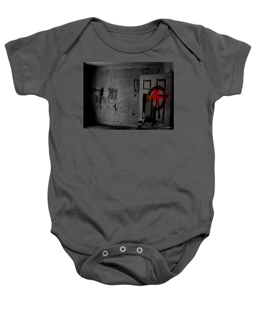 American Graffiti 6 Baby Onesie featuring the photograph American Graffiti 6 - Virgin Sacrifice by Ed Smith