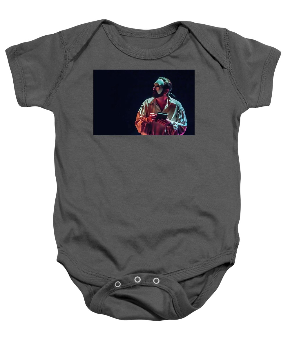 Live Theater Baby Onesie featuring the photograph American Phantom by Alan D Smith