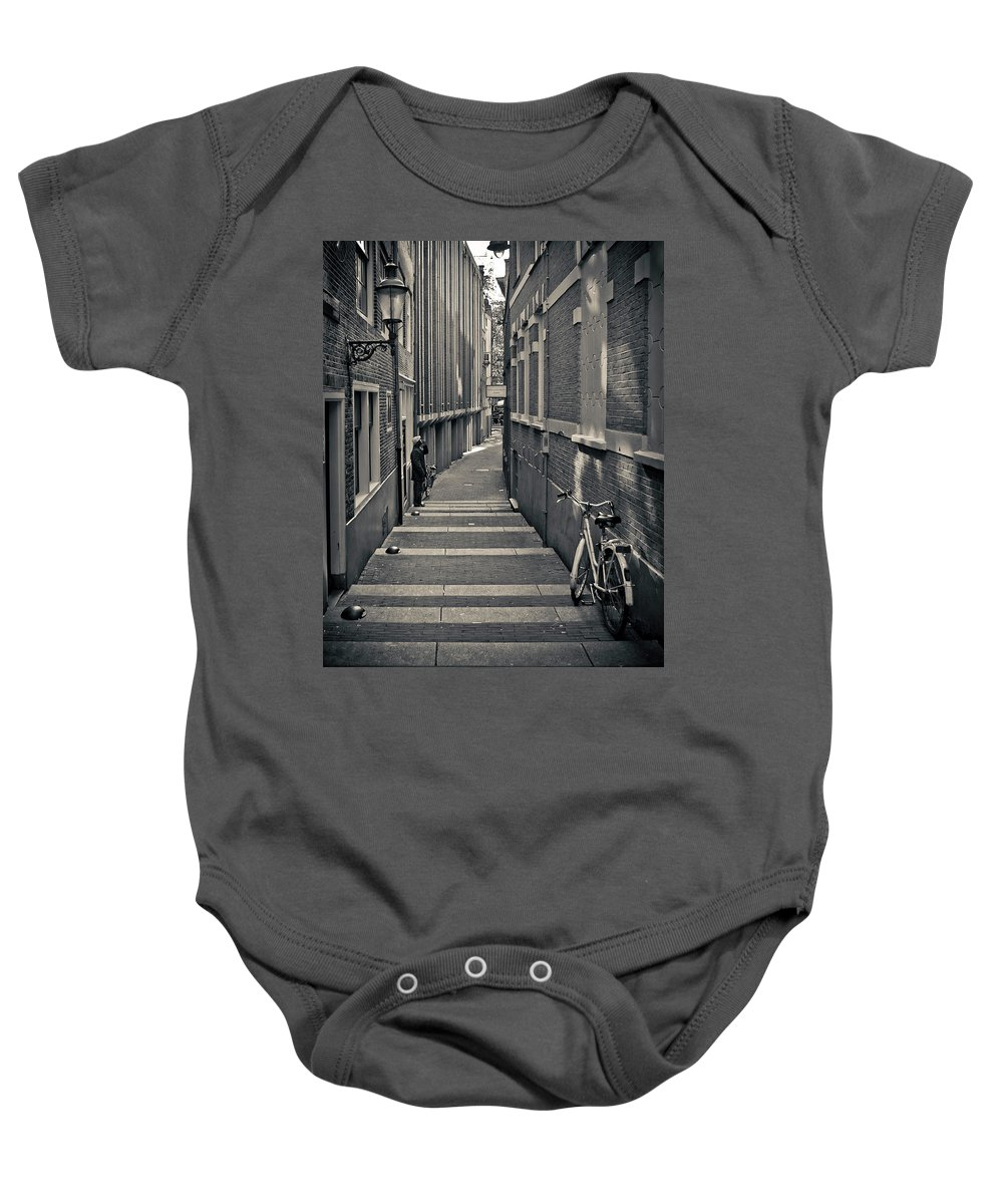 3scape Photos Baby Onesie featuring the photograph Amsterdam by Adam Romanowicz