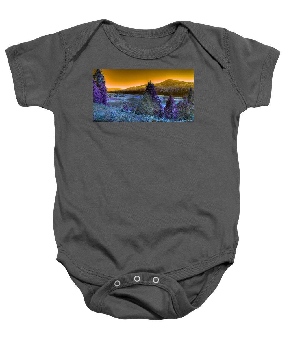 Fantasy Baby Onesie featuring the photograph An Idaho Fantasy 1 by Lee Santa