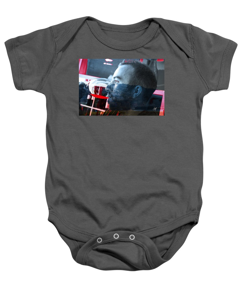 Spain Baby Onesie featuring the photograph Anniversaire A Rosas by Sabine Mylonas