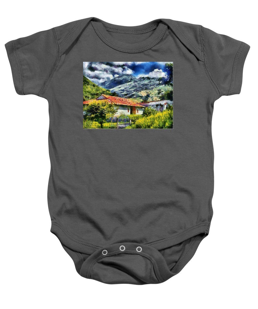 Valley Baby Onesie featuring the photograph Aragua Valley by Galeria Trompiz