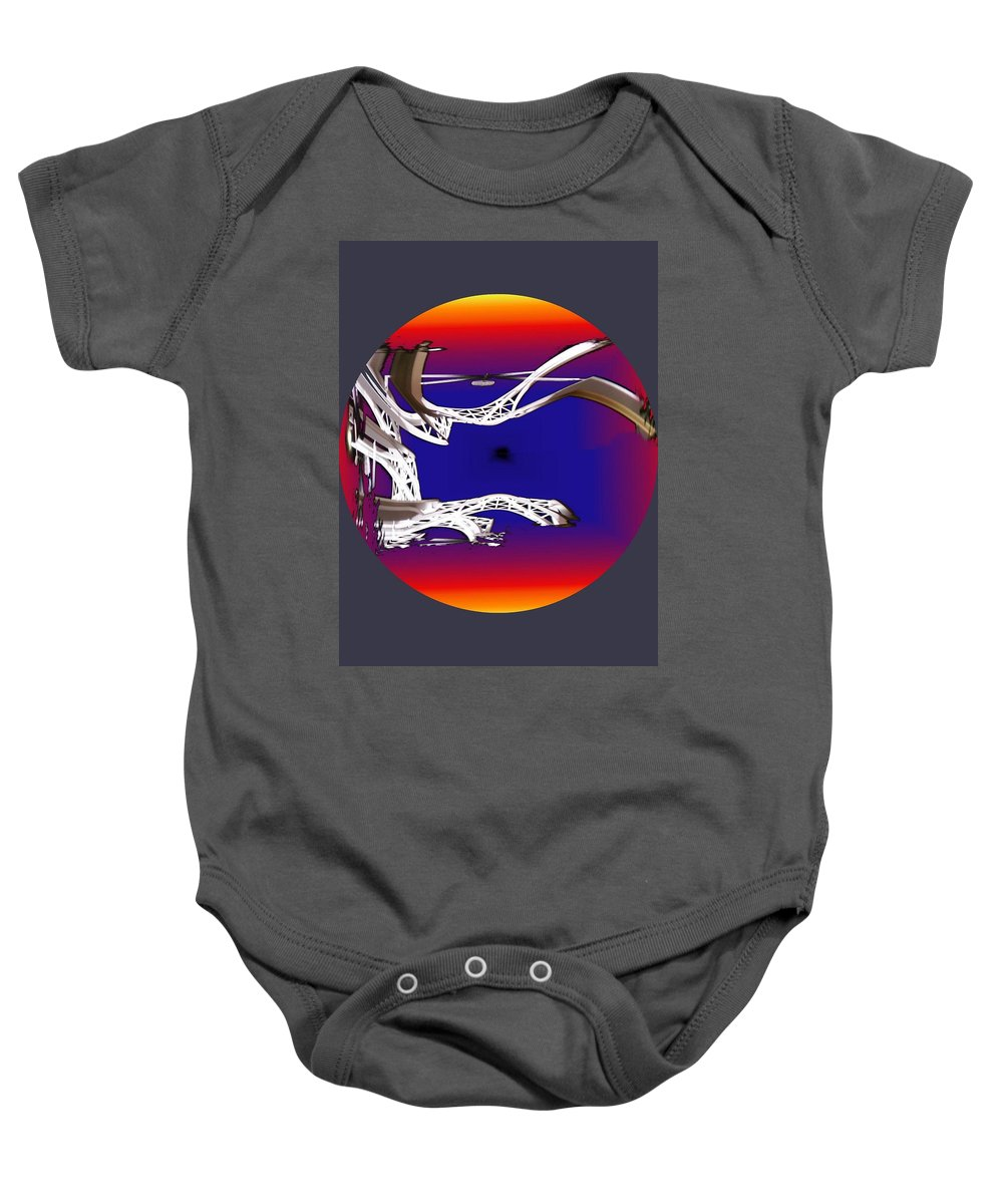Seattle Baby Onesie featuring the photograph Arches 2 by Tim Allen