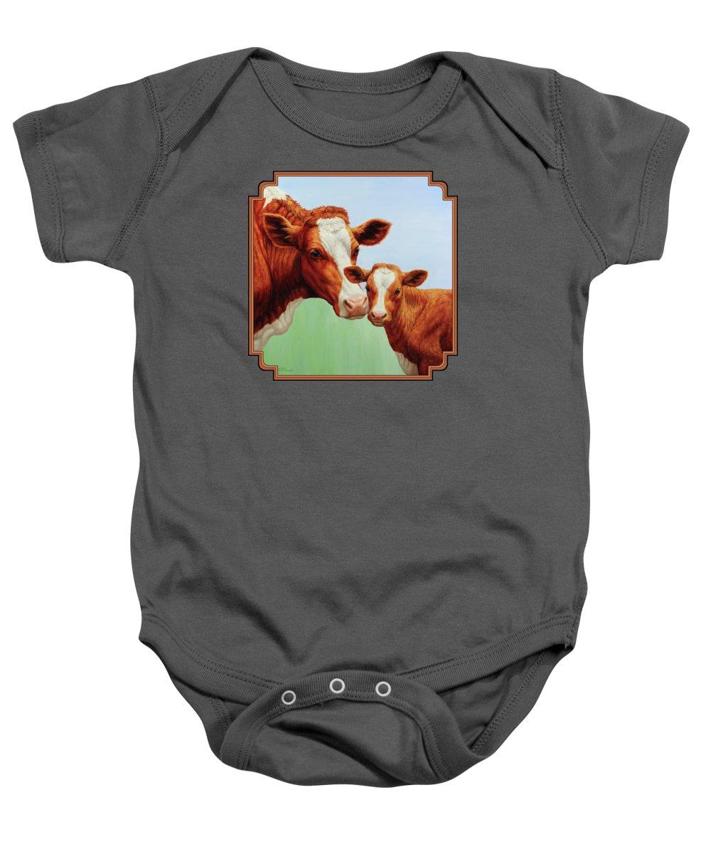 Cow Baby Onesies