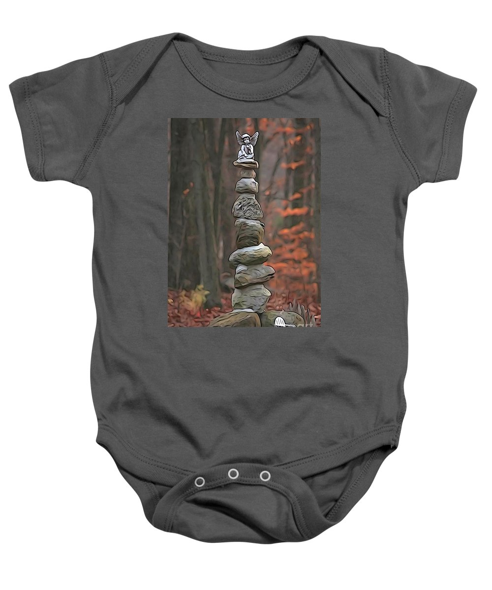 Staute Baby Onesie featuring the photograph Ascention by Cj Mainor