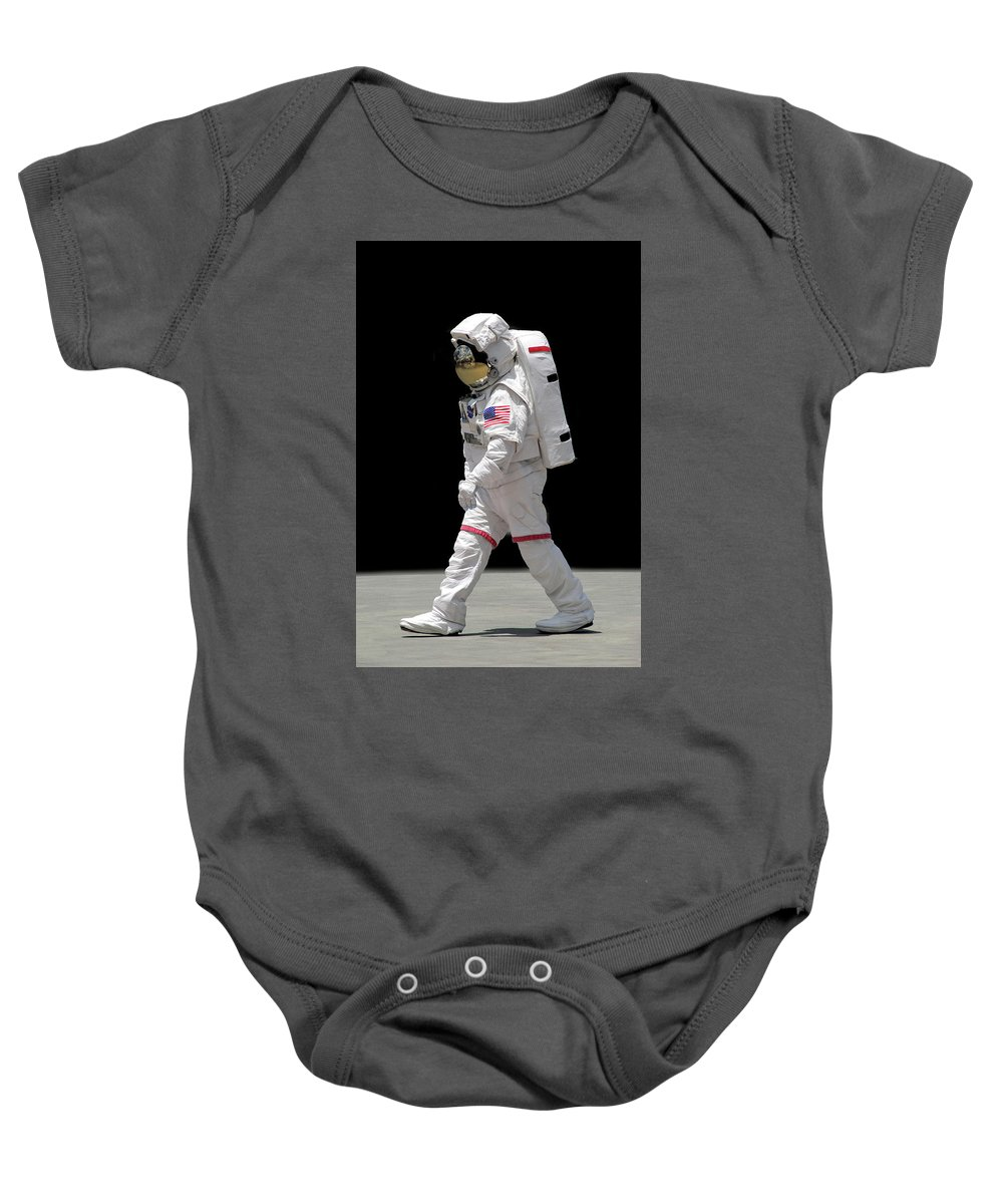 Apollo Baby Onesie featuring the photograph Astronaut by Francesa Miller
