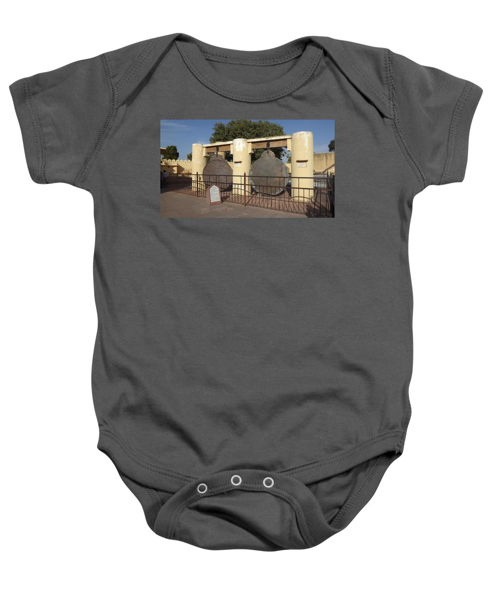 Astronomy Of Giants. Yantra Raj. The King Of Instruments Baby Onesie featuring the photograph Astronomy Of Giants. Yantra Raj. by Elena Perelman