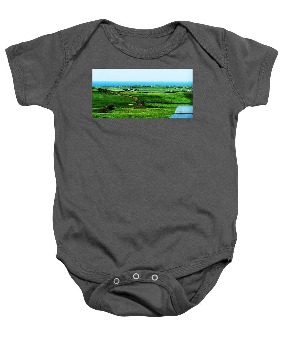 Ireland Baby Onesie featuring the photograph Atlantic View Doolin Ireland by Teresa Mucha