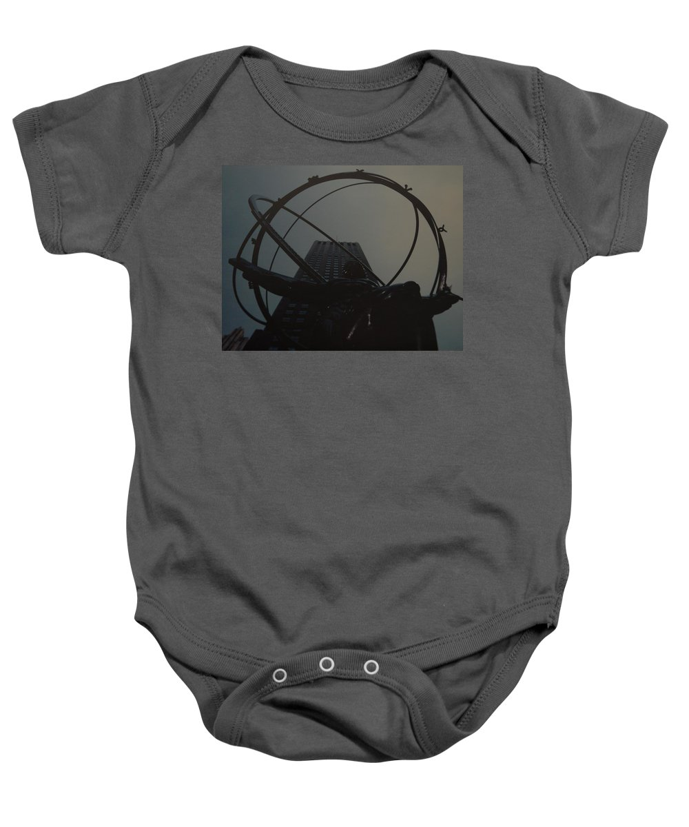 Atlas Baby Onesie featuring the photograph Atlas by Rob Hans