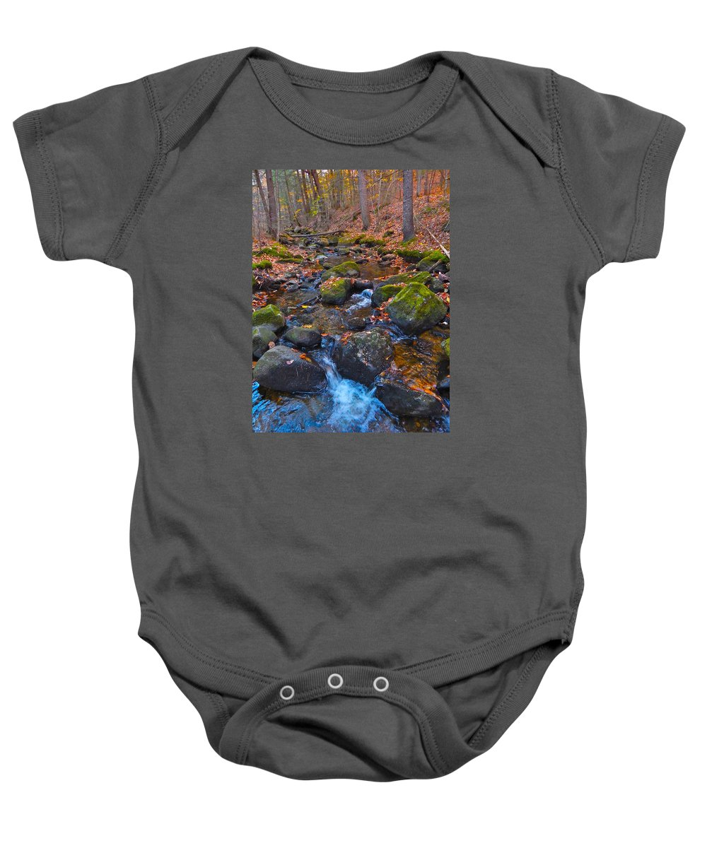 Autumn Landscape Baby Onesie featuring the photograph Autumn 2015 176 by George Ramos