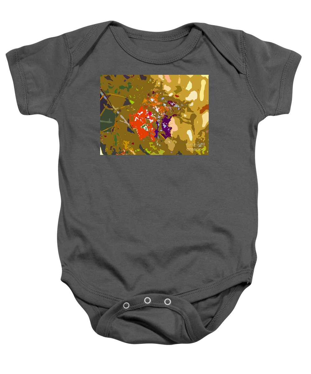 Autumn Baby Onesie featuring the photograph Autumns Leaf by David Lee Thompson