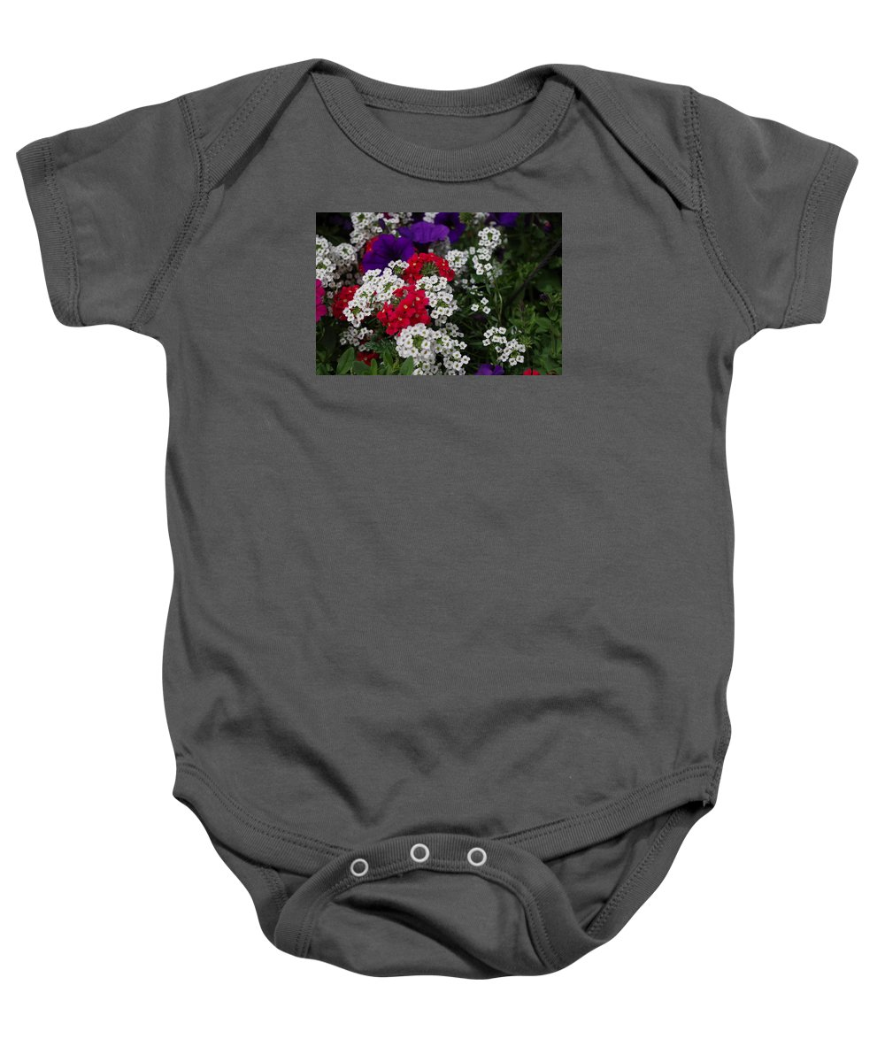 Paul Stanner Baby Onesie featuring the photograph b by Paul Stanner