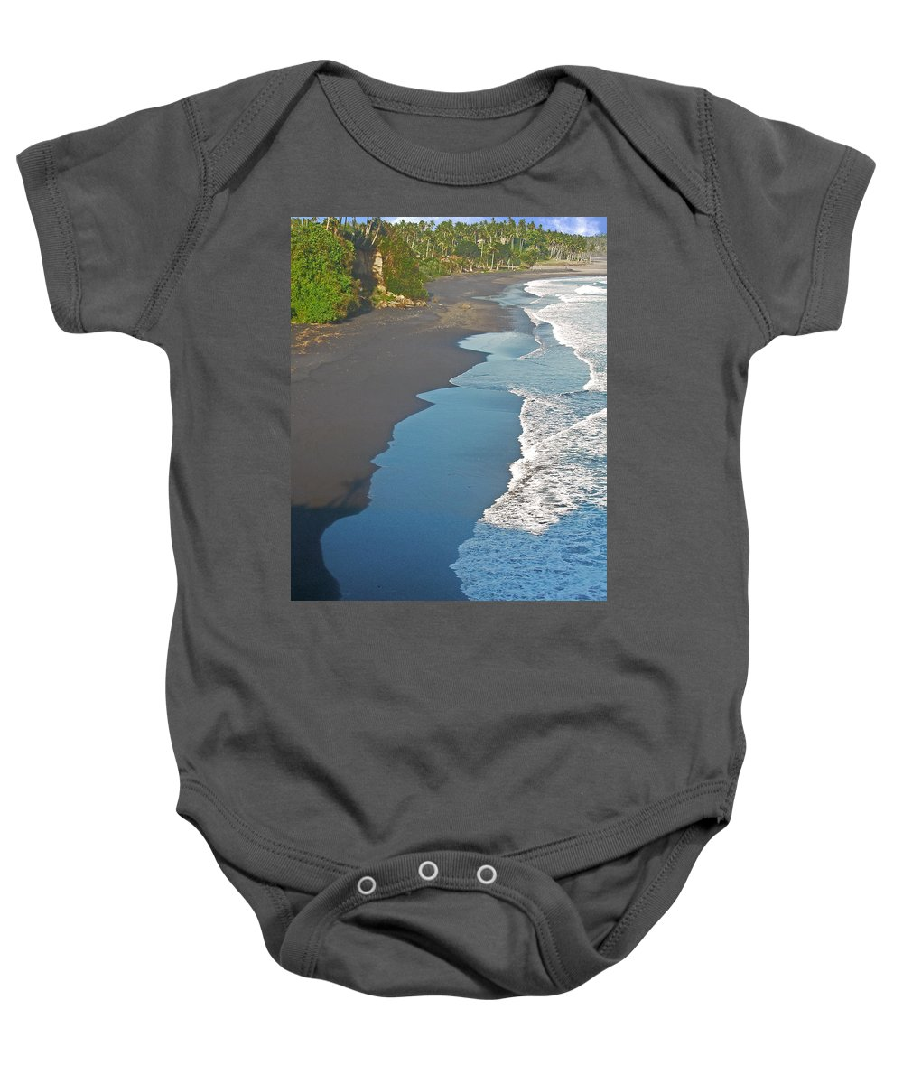 Bali Baby Onesie featuring the photograph Bali Western Shore by Mark Sellers