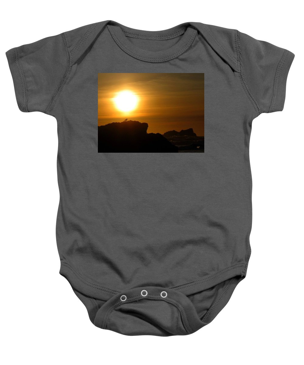 Bandon Baby Onesie featuring the photograph Bandon 30 by Will Borden