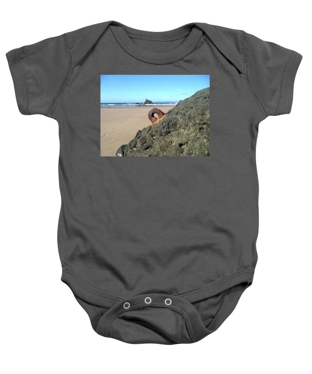 Bandon Baby Onesie featuring the photograph Bandon 34 by Will Borden