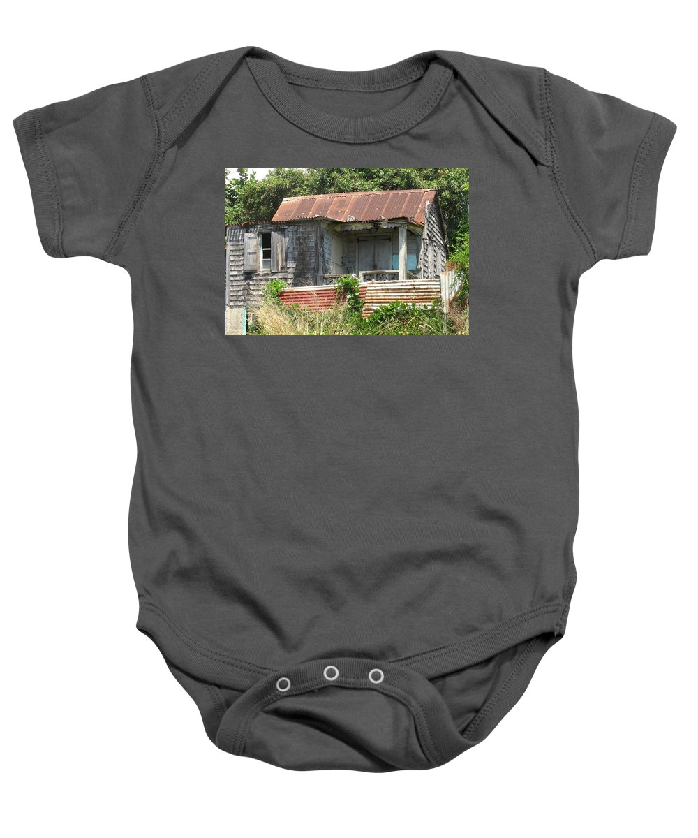 House Baby Onesie featuring the photograph Be It Ever So Humble by Ian MacDonald
