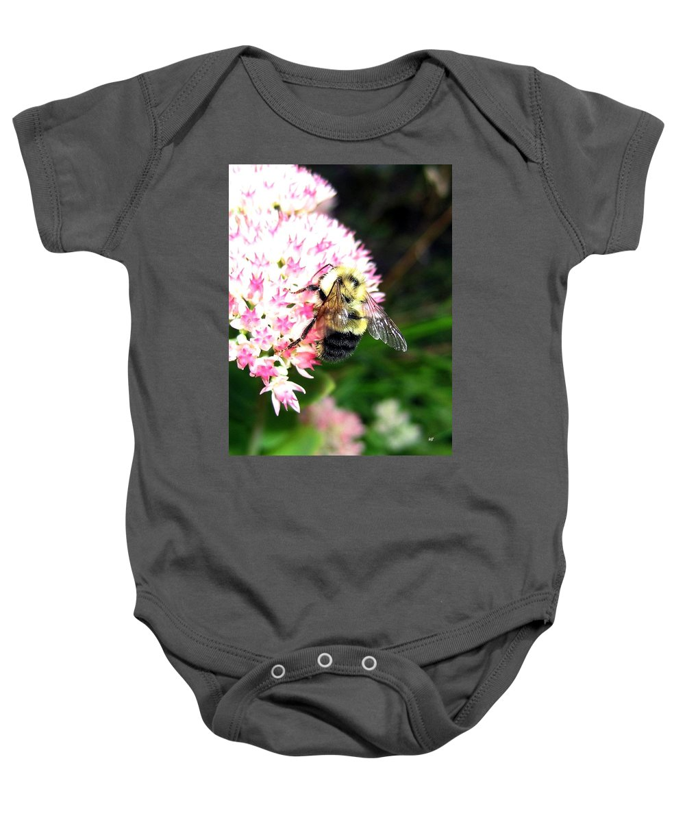 Bee Baby Onesie featuring the photograph Bee-line 2 by Will Borden