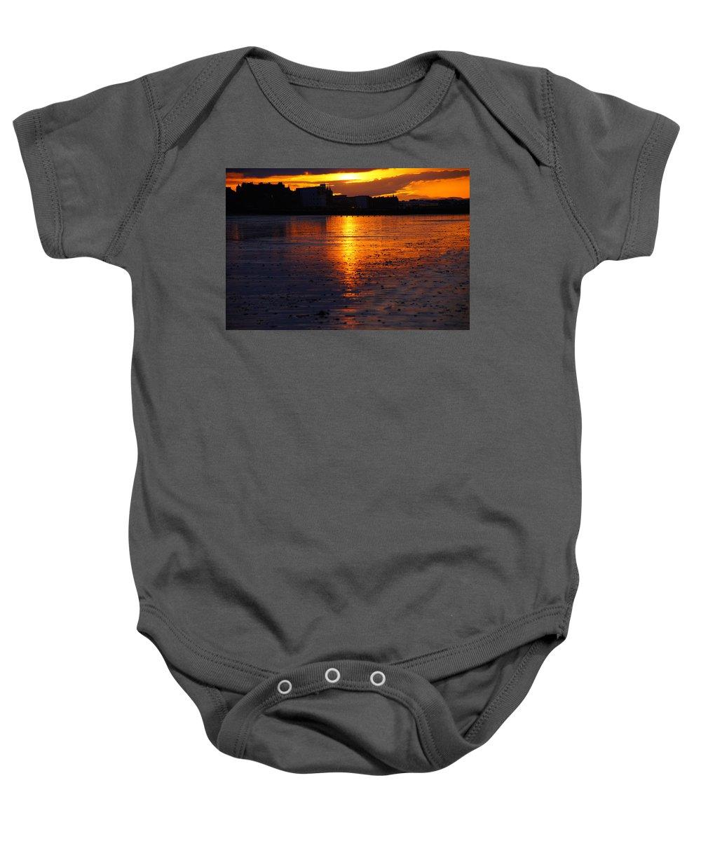 Nik Watt Baby Onesie featuring the photograph Before The Water by Nik Watt