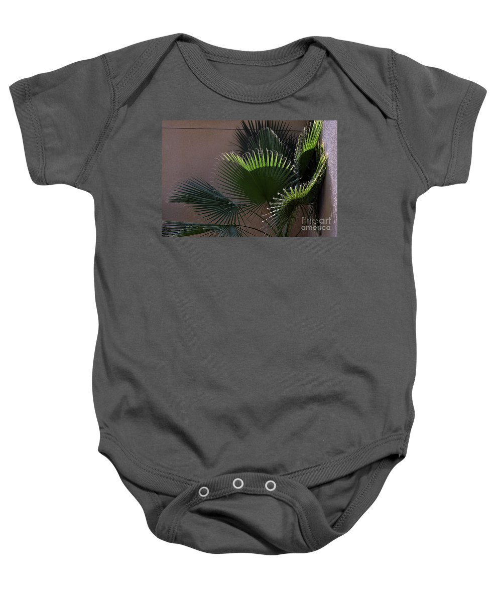 Clay Baby Onesie featuring the photograph Biggest Fans by Clayton Bruster