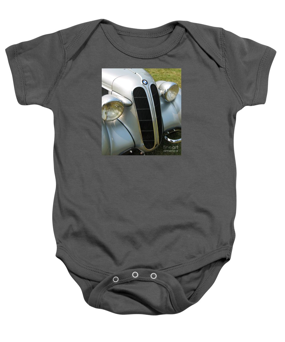 Bmw Baby Onesie featuring the photograph BMW by Neil Zimmerman