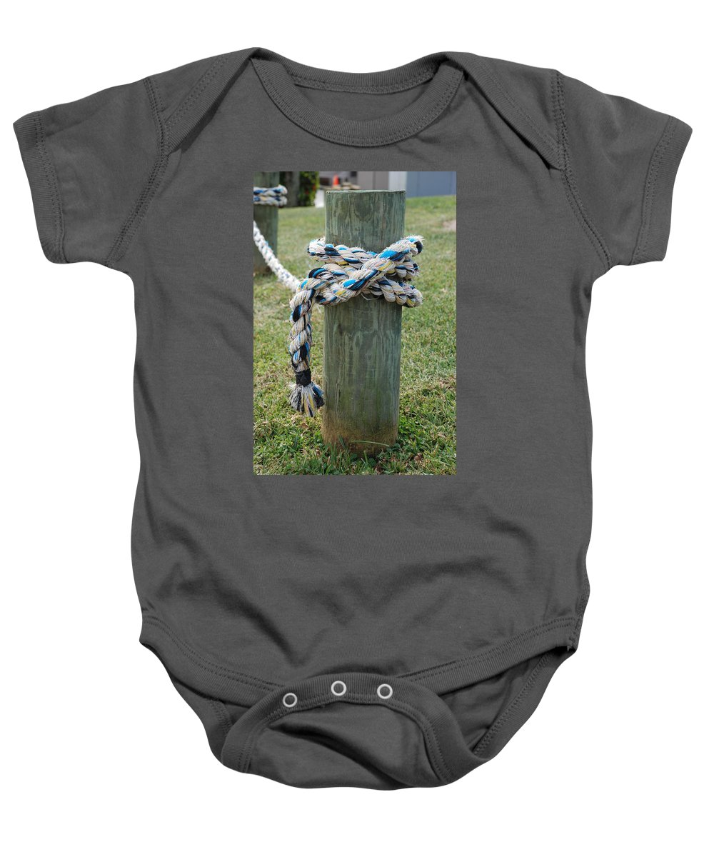 Boats Baby Onesie featuring the photograph Boat Lines by Rob Hans