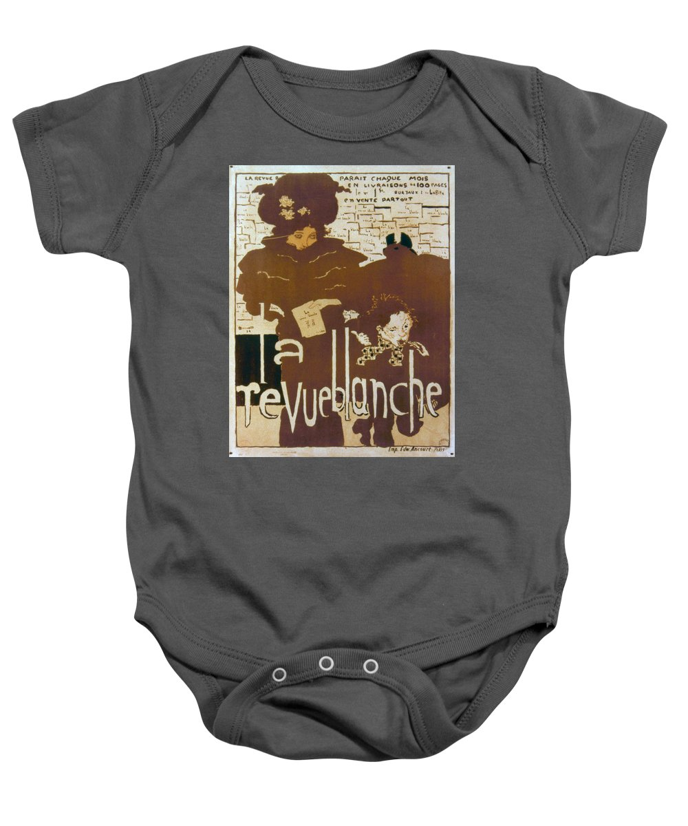 1894 Baby Onesie featuring the photograph Bonnard Revue 1894 by Granger