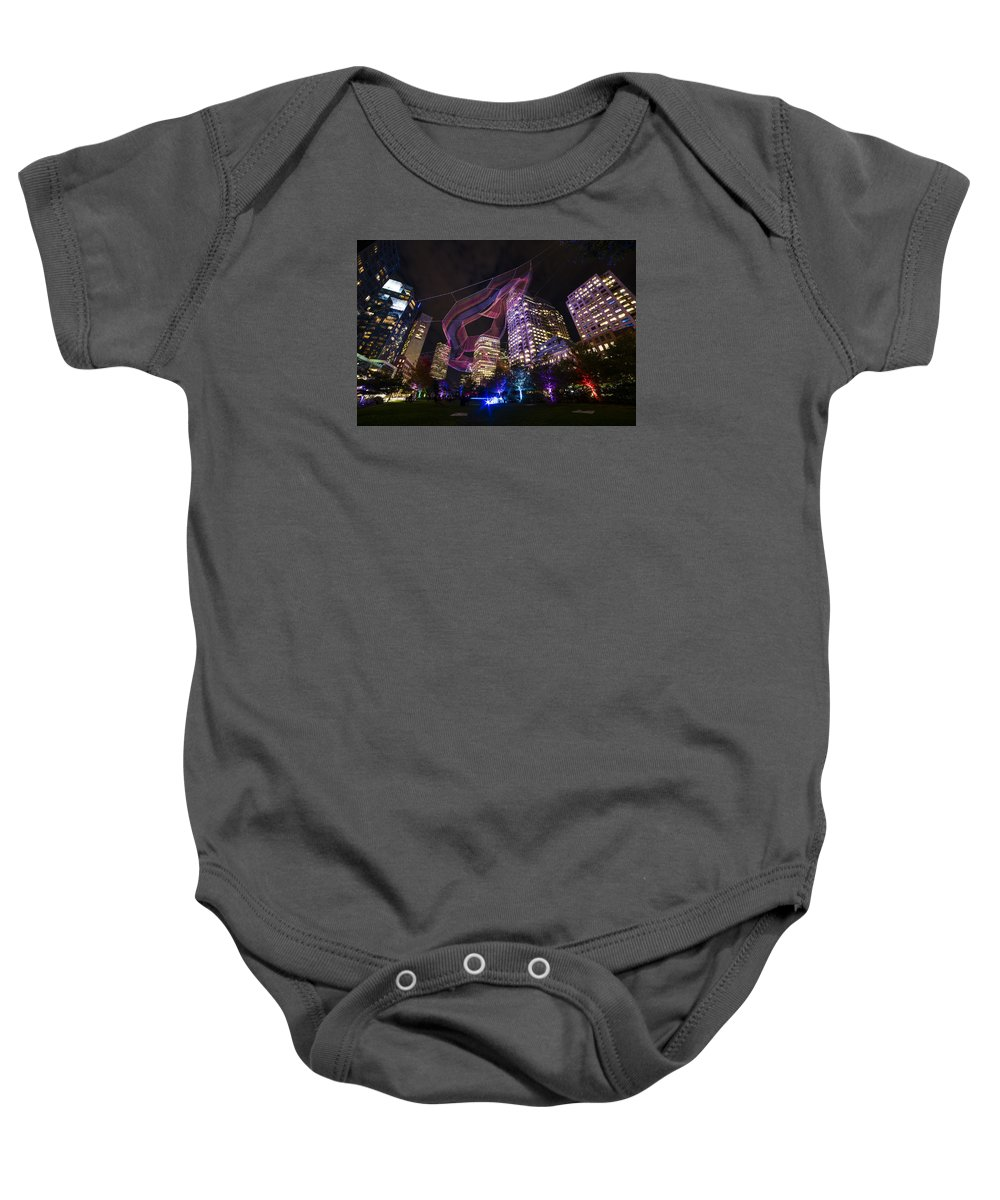 Boston Baby Onesie featuring the photograph Boston Ma Urban Arboretum by Toby McGuire