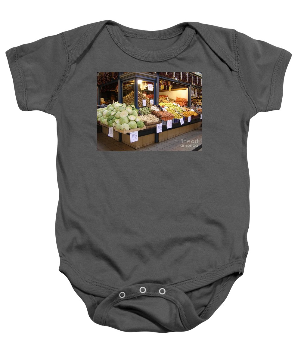 Food Baby Onesie featuring the photograph Bountiful by Mary Rogers