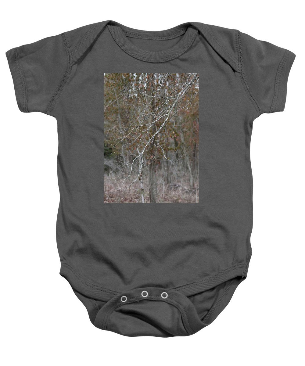 Trees Baby Onesie featuring the photograph Branches by Michael Munster