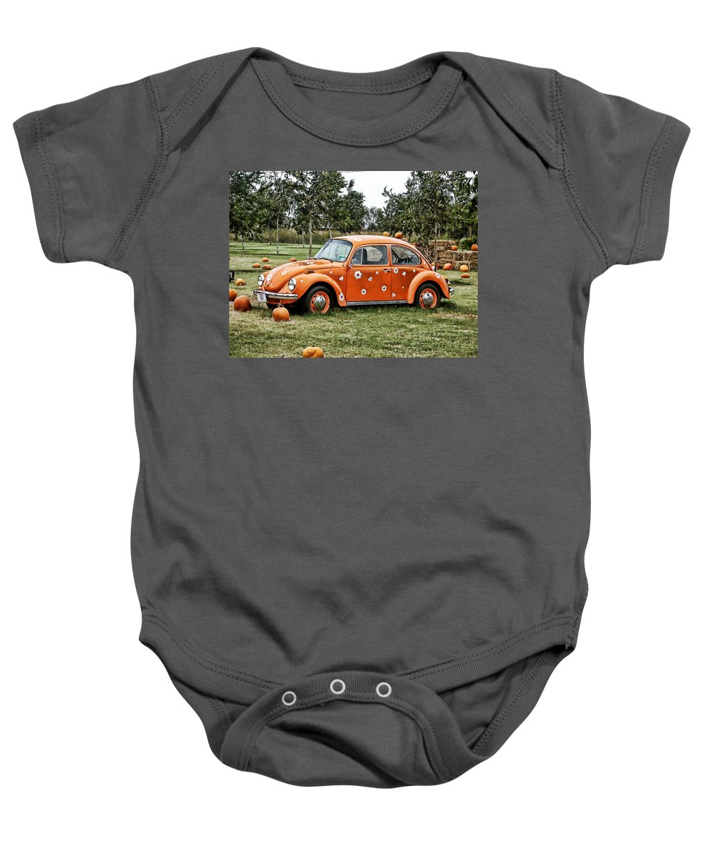 Bug Baby Onesie featuring the photograph Bugs In The Patch Again by Scott Wyatt