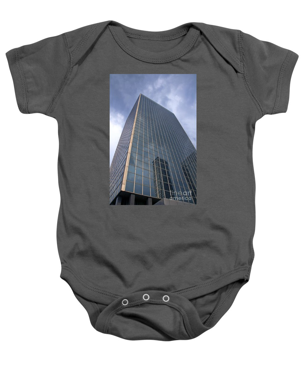 Baby Onesie featuring the photograph Building by Charuhas Images