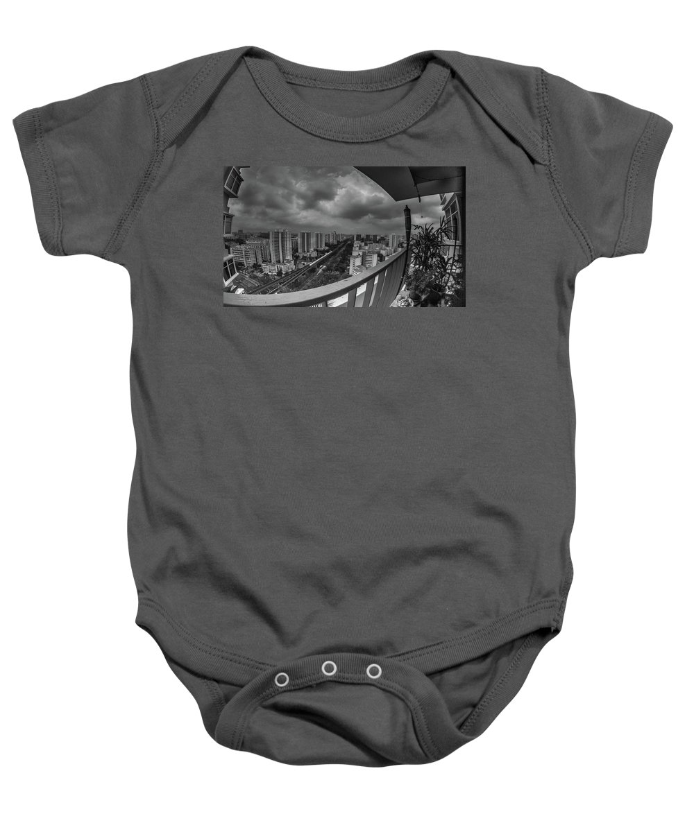 Singapore Baby Onesie featuring the photograph Bukit Batok by Janet Giles