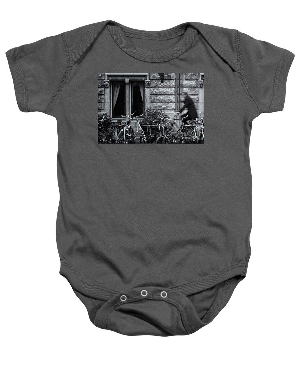 Burgandy Baby Onesie featuring the photograph Burgandy Blur by Doug Sturgess