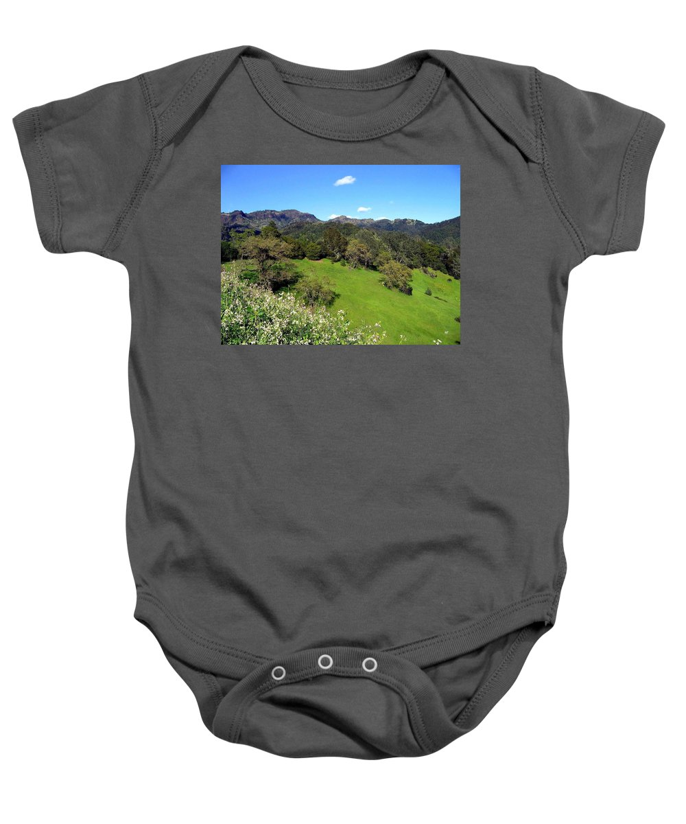 California Baby Onesie featuring the photograph California Highlands by Will Borden