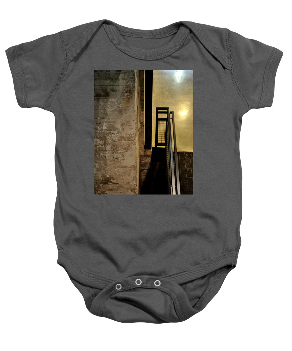 Abstract Baby Onesie featuring the photograph Carlton 11 by Tim Nyberg