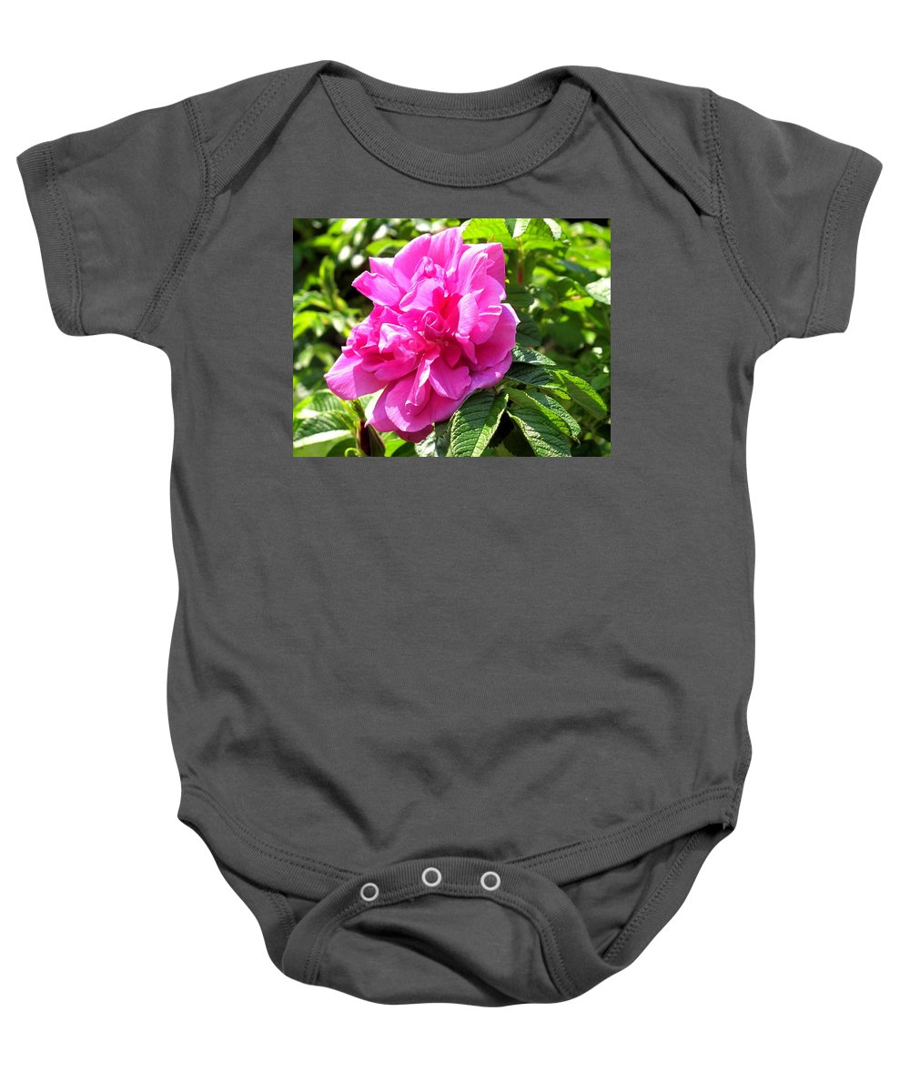 Rose Baby Onesie featuring the photograph Carmen by Ian MacDonald