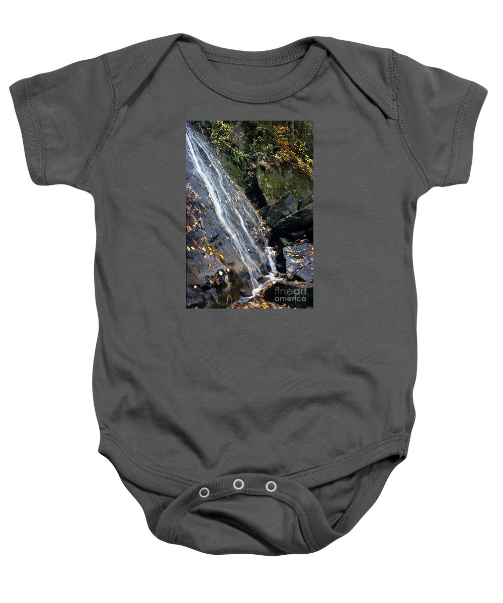 Waterfall Baby Onesie featuring the photograph Cascade by Bernd Billmayer