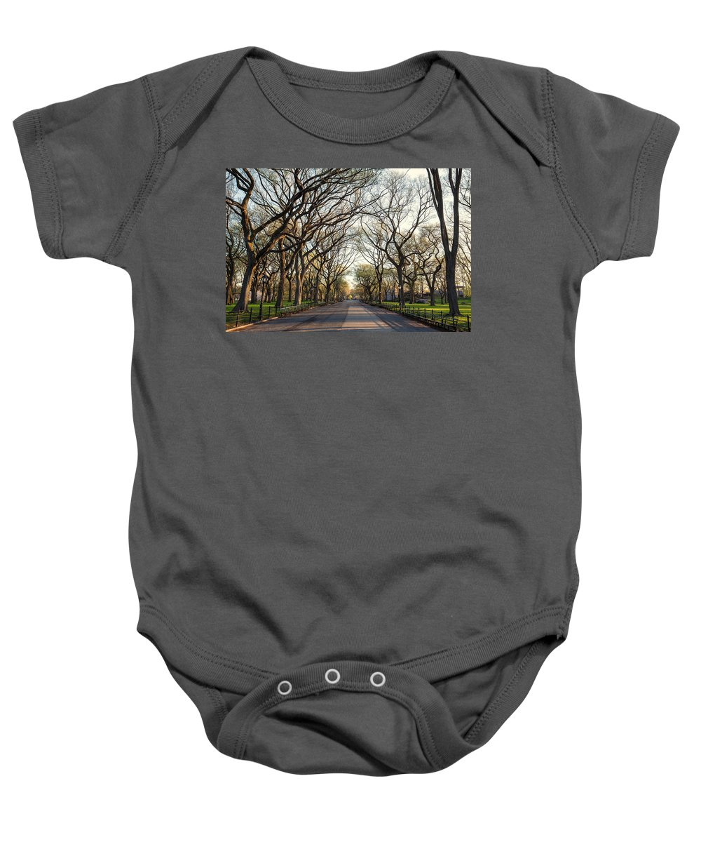 Nyc Baby Onesie featuring the photograph Central Park Nyc by Stefan Mazzola