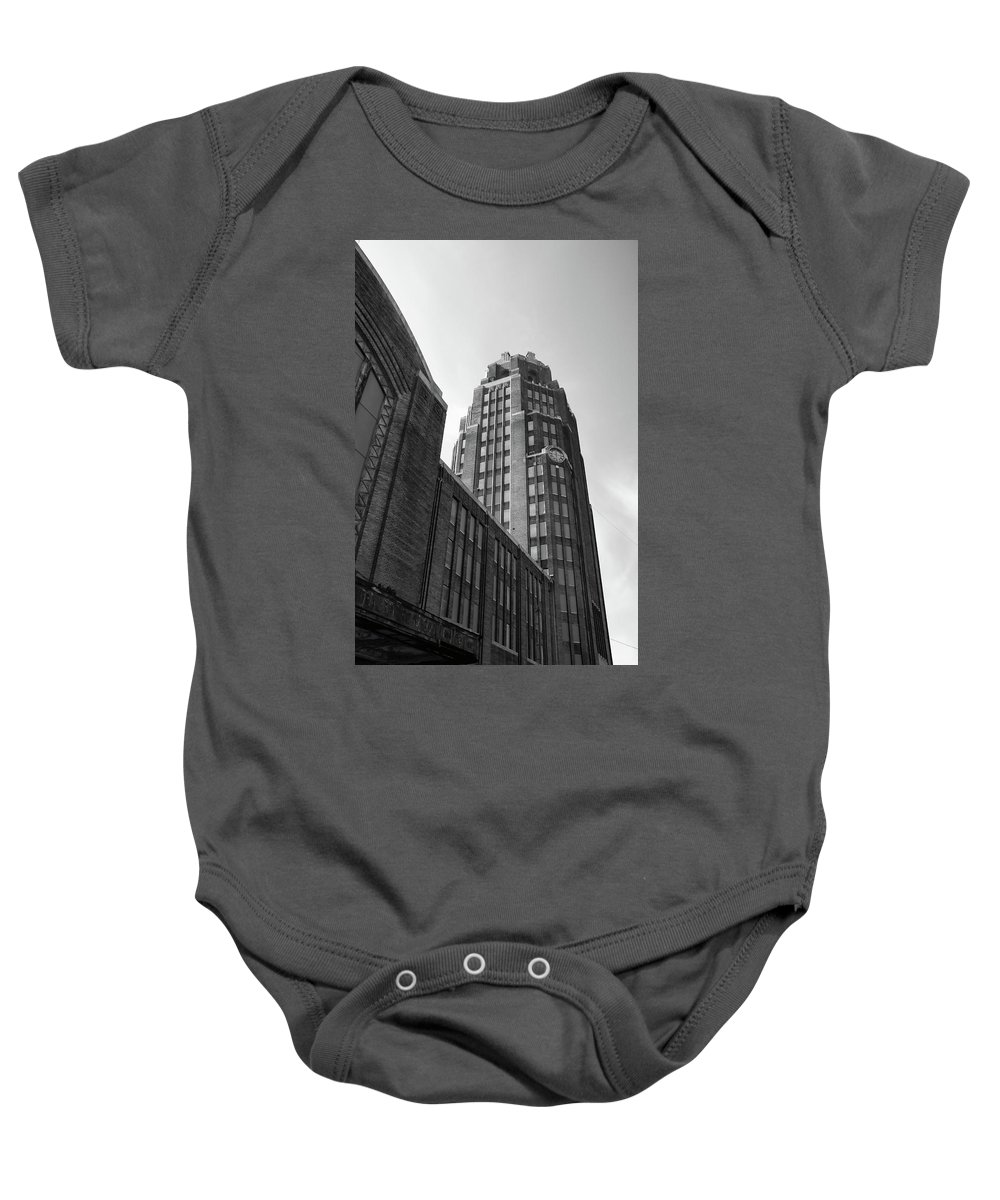 Buildings Baby Onesie featuring the photograph Central Terminal 15142 by Guy Whiteley