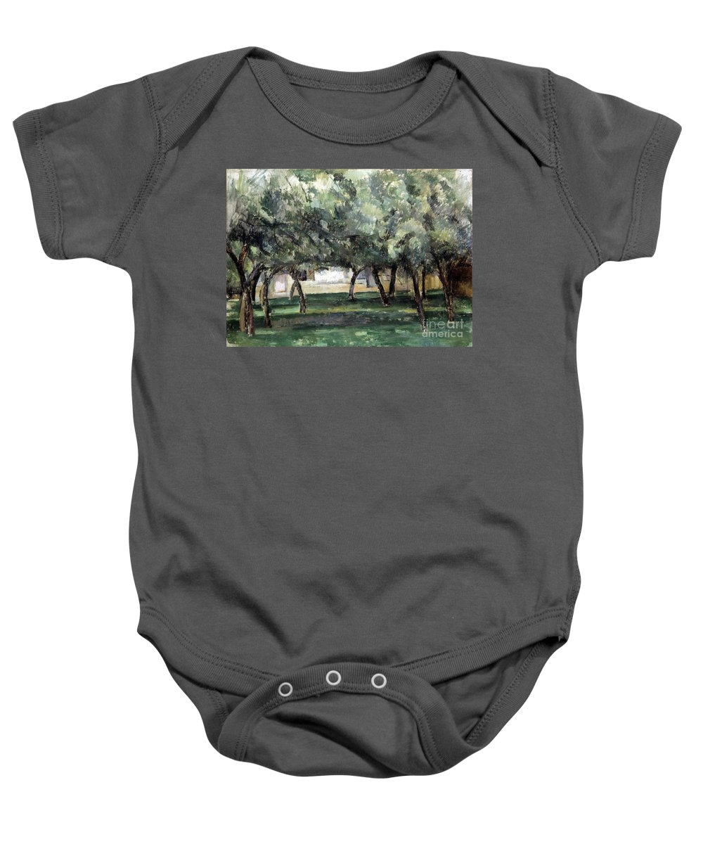 19th Century Baby Onesie featuring the photograph Cezanne: Le Clos Normand by Granger